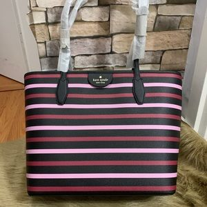 Authentic Kate Spade Saffiano leather top zip tote